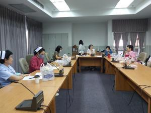 """การประชุมคณะกรรมการอำนวยการ ครั้งที่ 5/2564  เพื่อวางแผนในการจัดประชุมวิชาการย่อย หัวข้อ """"กฎหมายกับผู้ให้บริการสาธารณสุข"""""""